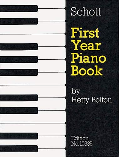 1st Year Piano Book - Partition - Piano - laflutedepan.com