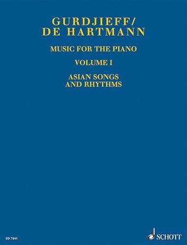 GURDJIEFF / HARTMANN - Music For Piano. Volume 1 - Partition - di-arezzo.co.uk