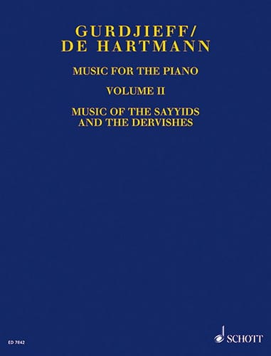 Music For Piano. Volume 2 - GURDJIEFF / HARTMANN - laflutedepan.com