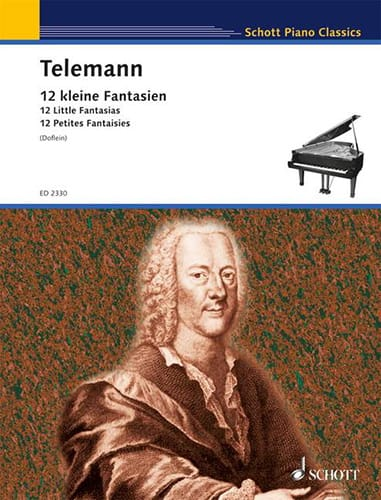 TELEMANN - 12 Kleine Fantasian - Partition - di-arezzo.it