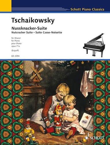 Nussknacker-Suite Opus 71a - TCHAIKOVSKY - laflutedepan.com