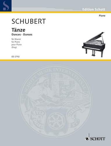 Tänze für die Jugend - SCHUBERT - Partition - Piano - laflutedepan.com