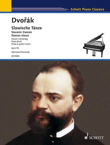 DVORAK - Slaves Dances 4 Hands Opus 46. - Partition - di-arezzo.es