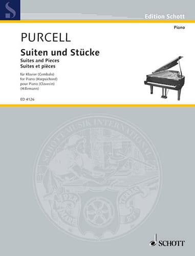 Henry Purcell - Stücke für Klavier - Partition - di-arezzo.fr