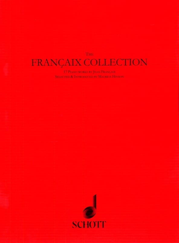 Jean Françaix - The Francaix Collection - Partition - di-arezzo.com