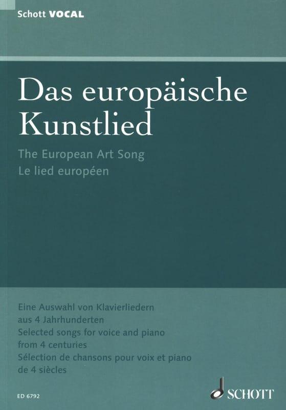 - Das europäische Kunstlied - Partition - di-arezzo.co.uk