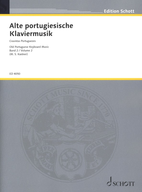 Clavecinistes Portugais Volume 2 - Partition - laflutedepan.com