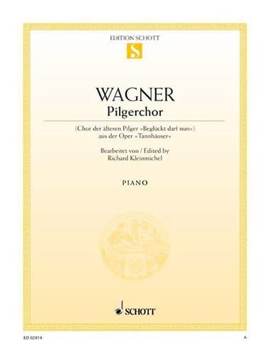Richard Wagner - Pilgerchor. Pilgrims Chorus - Partition - di-arezzo.co.uk