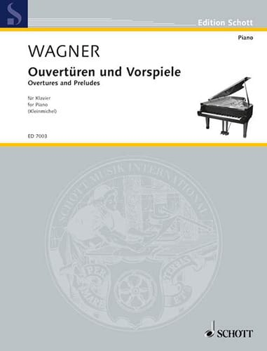 Richard Wagner - Openings and Preludes - Partition - di-arezzo.co.uk