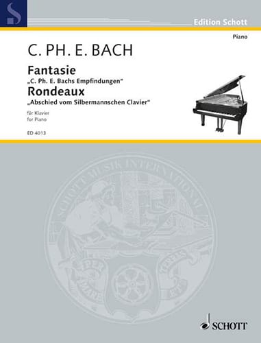 Carl-Philipp Emanuel Bach - Fantasy and rondo Wq 67 - Partition - di-arezzo.com