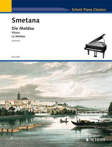 Bedrich Smetana - Die Moldau Mein Vaterland, Nr. 2 - Partition - di-arezzo.com