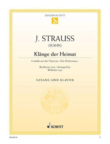 Klänge Der Heimat. Fledermaus - Johann fils Strauss - laflutedepan.com