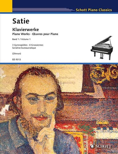 Erik Satie - Works for piano. Volume 1 - Partition - di-arezzo.co.uk