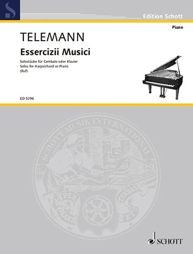 TELEMANN - Solostücke - Partition - di-arezzo.it