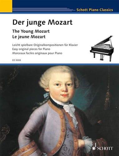 Der junge Mozart - MOZART - Partition - Piano - laflutedepan.com