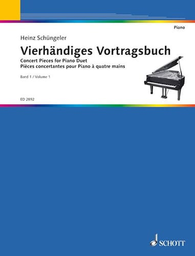 Pièces Concertantes Vol. 1 - Partition - Piano - laflutedepan.com