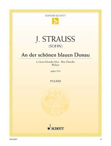 An Der Schönen Blauen Donau Opus 314 - laflutedepan.com