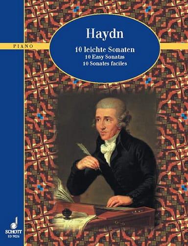 10 Leichte Sonaten - HAYDN - Partition - Piano - laflutedepan.com
