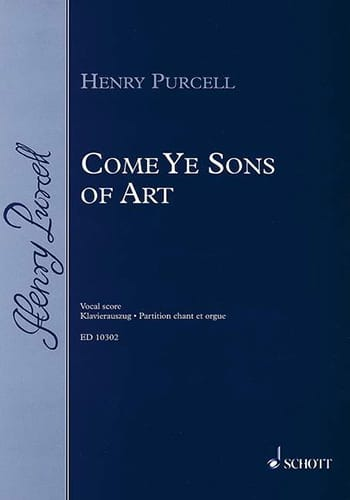 Henry Purcell - Come Ye Sons of Art 1694 - Partition - di-arezzo.co.uk