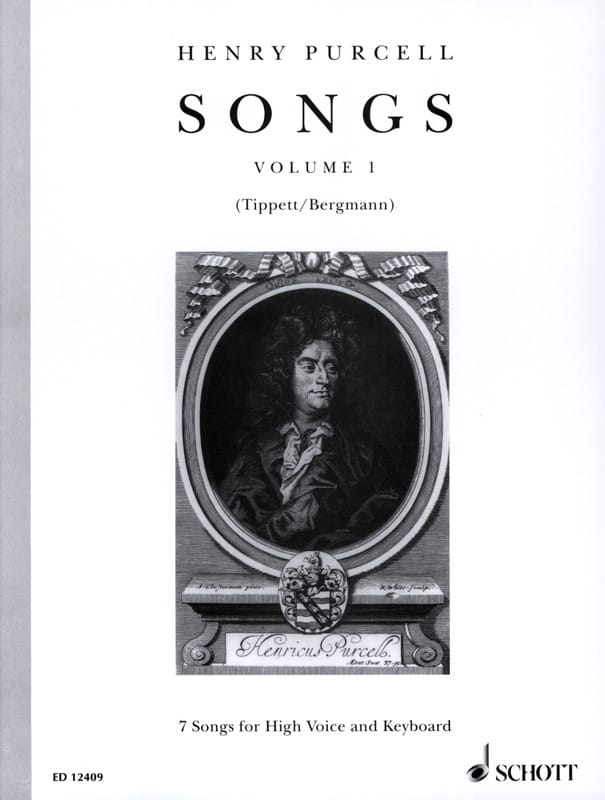 Henry Purcell - Songs, Bd 1. High Voice - Partition - di-arezzo.co.uk