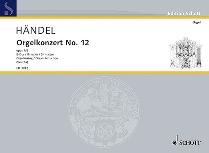 Concerto N° 12 B-Dur op. 7-6 - HAENDEL - Partition - laflutedepan.com