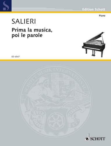 Prima la Musica, Poi le Parole - SALIERI - laflutedepan.com