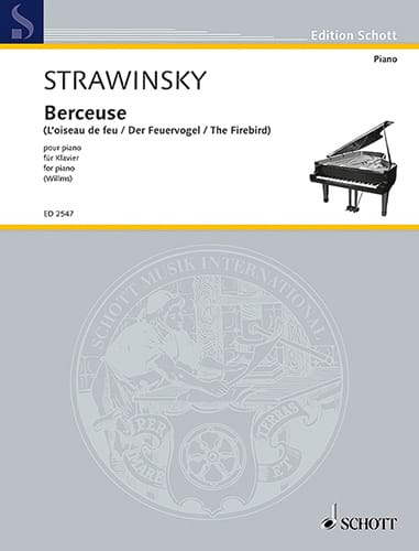 Berceuse de L'oiseau de Feu - STRAVINSKY - laflutedepan.com