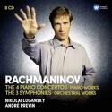 Nikolai LUGANSKY - 4 Concertos pour Piano & 3 Symphonies laflutedepan.com