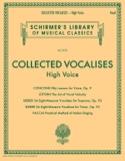 Collected Vocalises. Voix haute Livre Pédagogie - laflutedepan.com