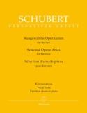 Sélection d'airs d'opéras pour baryton SCHUBERT laflutedepan.com