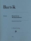 Rumänische Weihnachtslieder Bela Bartok Partition laflutedepan.com