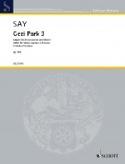 Gezi Park 3 Opus 54b - Fazil Say - Partition - laflutedepan.com