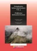 Polyphonies latino-américaines Volume 4 Partition laflutedepan.com