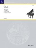 Night Opus 68. Fazil Say Partition Piano - laflutedepan.com