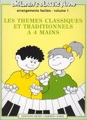 Thèmes Classiques et Traditionnels Célèbres Volume 1. 4 Mains - laflutedepan.com