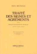 Traité des Signes et Agréments Paul Brunold Partition laflutedepan.com
