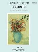 10 Mélodies. Voix Haute - Charles Gounod - laflutedepan.com
