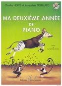 Ma 2ème Année de Piano - HERVÉ - POUILLARD - laflutedepan.com