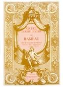 Recueil D'airs Volume 1. Soprano Jean-Philippe Rameau laflutedepan.com