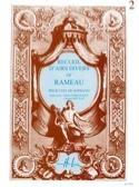 Recueil D'airs Volume 2. Soprano Jean-Philippe Rameau laflutedepan.com