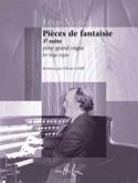 Pièces de Fantaisie Opus 54 Louis Vierne Partition laflutedepan.com
