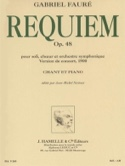 Requiem Version 1900 Gabriel Fauré Partition Chœur - laflutedepan.com