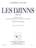 Les Djinns Opus 12 - Gabriel Fauré - Partition - laflutedepan.com