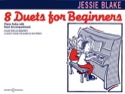 8 Duets For Beginners Jessie Blake Partition Piano - laflutedepan.com