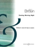 Evening, Morning, Night - Benjamin Britten - laflutedepan.com