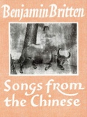 Songs From The Chinese Opus 58 Benjamin Britten laflutedepan.com