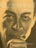 6 Morceaux Opus 11. 4 Mains - Sergei Rachmaninov - laflutedepan.com