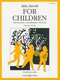 For Children Volume 1 BARTOK Partition Piano - laflutedepan.com