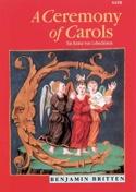 Ceremony Of Carols Opus 28. SATB Benjamin Britten laflutedepan.com