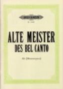 Alte Meister des Bel Canto. Alto Partition laflutedepan.com
